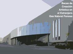 Convocatoria Becas de creación artística en el extranjero Gas Natural Fenosa para jóvenes artistas nacidos o residentes en Galicia