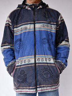 dd499e787b14a Block print sharma jacket. Hippie Clothing StoresMonument ...