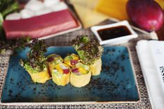 #food #ginzaproject #terrassa #restaurant #terrassa #yummi #japan #mango #roll