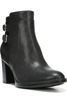 439a6ddeca7 Naturalizer 'Flaza' Buckle Bootie (Women) | Nordstrom. Leather Ankle BootsBuckle  ...