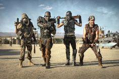 Wasteland Weekend 2015: An Outrageous 4-Day Post-Apocalyptic Party in California's Mojave Desert