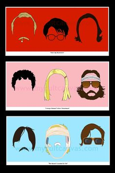 Original Rushmore Art Print Poster by Phil by RedPandaDesigns