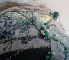 Boho bandana, thriftgypsy style, recycling fabrics and clothing eco festival wear.