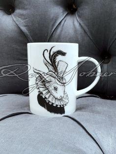 Bling Bunny Mug by Rory Dobner