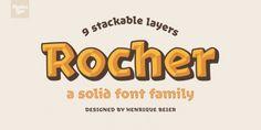 Rocher font download