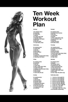 10 Week Workout Challenge
