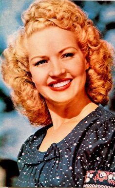 Betty Grable, gorgeous vintage styling