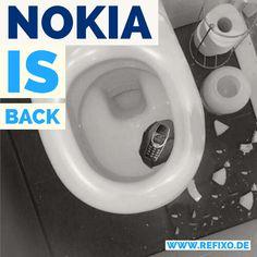 #Nokia 3310 wurde aus dem Reparaturverzeichnis mit sofortiger Wirkung gelöscht. Bald auf refixo : WC Reparaturen :) #nokia3310 #wc #toilet #toilette #kibel #nokiaisback #terminator #refixo #sanitär #reparatur #handy #smartphone #funny #witzig #spaß #smartphone #actionphone