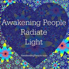 Awakened people.....