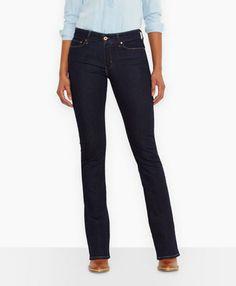 Demi Curve Boot Cut Jeans - Richest Indigo - Levi's - levi.com