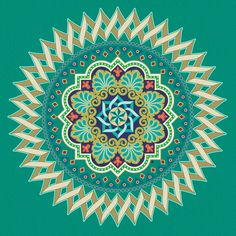 Graphic Mandala Design Art Print by Gary Grayson | Society6 Inner circles shape