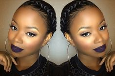 protective styles for natural hair Easy Granny Braid Tutorial Protective Style [Video] - Black Hair Information Protective Hairstyles, Braided Hairstyles, Flat Twist Hairstyles, Kid Hairstyles, Braided Updo, Wedding Hairstyles, Hair Breakage Treatment, Curly Hair Styles, Natural Hair Styles