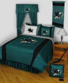 quality design 7ab03 801a8 17 Best NHL Sidelines Bedding Collection images in 2016 ...
