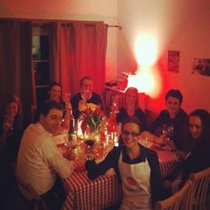 Pomodoro E Basilico Supper Club : hosted by Sara Mittersteiner at her home in Queens Park London. Find out more about this supper club on CookoutChef.com #cookoutchef