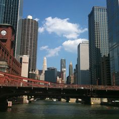 Chicago River, downtown Chicago.. .        Road Trip Is Set!!                                                                                                                     Celebrating our 26th year Wedding Anniversary
