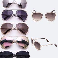 77518fca01db2 Desi Aviators  21   2trende.com Lets accessorize!!! Which sunnies is ur
