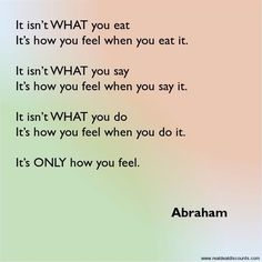QUOTES ♡ ABRAHAM HICKS