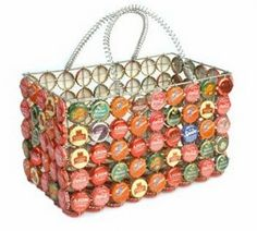 Recycled Bottle top Craft Ideas (18 Pics).