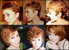 Image result for growing out short curly hair