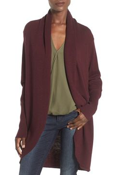 Leith Shawl Collar Cocoon Cardigan available at #Nordstrom