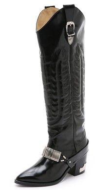 Toga Pulla Cowboy Booties | $695 SHOPBOP