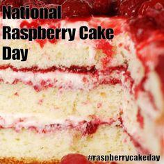 National Raspberry Cake Day - July 31, 2016