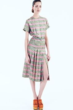 Rochas Resort 2014 Collection Slideshow on Style.com