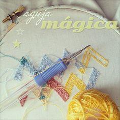 Avanzando en mis labores de bordado, hoy aguja mágica! Este es el revés, ya os enseñaré acabado! #bordado #costura - @madredemialma- #webstagram