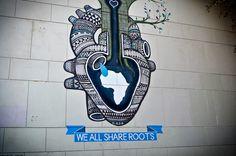 we all share roots by Boa Mistura. photo by Carole Moreau