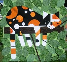 "Why not turn Charley Harper's ""Limp on a Limb"" into a quilt, since I love it so?"