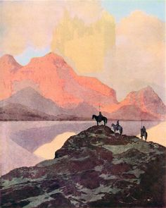 Maxfield Parrish--City of Brass