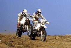 Rahier Auriol 1984 Paris Dakar