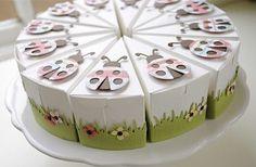 ladybug favor boxes