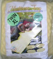 Thick Egg Shell Mattress Pad -- make your bed in the dorms extra comfy.