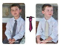 Tuto: Cravate pour les petits