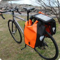Solar Chargers for Bicycle touring   I must have this Omg!!!!