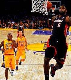 Lebron James, Kobe Bryant and Steve Nash (Los Angeles Lakers)