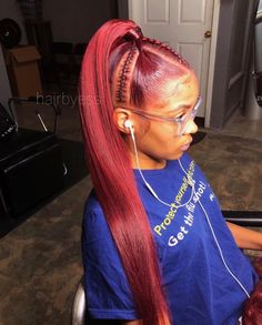 50 Best Black Ponytail Hairstyles IdeasAll images are taken from public sources Black Ponytail Hairstyles, Wedge Hairstyles, African Hairstyles, Black Girls Hairstyles, Braided Hairstyles, Short Hairstyle, Sleek Ponytail, Ponytail Styles, Curly Hair Styles