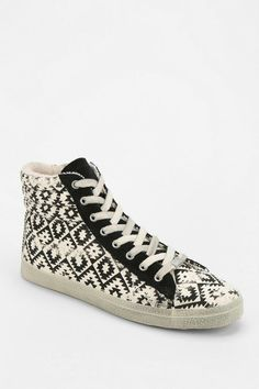KIM & ZOZI Gypster Geo Print High-Top Sneaker #urbanoutfitters