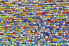 mozaiek , muur , wall , bv , lokaal.