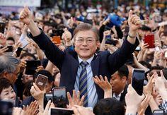 Moon Jae-in se ha convertido en el nuevo presidente de Corea del Sur al ganar las elecciones presidenciales de mayo de 2017.