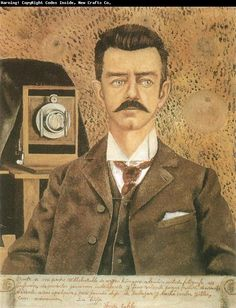 Frida Kahlo Painting of her father Carl Wilhelm Kahlo