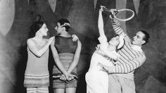 Le Train Bleu, 1924. Ballets Russes. Costumes by Coco Chanel