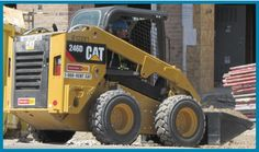 Skid Steer Loader - CAT We've got kits that teach you all about operating skid steers. Training Kit, Safety Training, Skid Steer Loader, Cat, Cat Breeds, Cats, Kitty