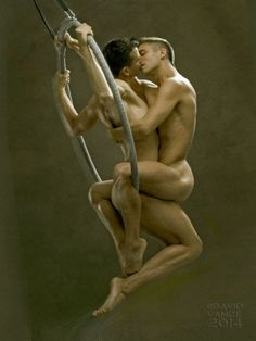Stephane Haffner  Kyle Kier: Aerialist Love. David Vance Photos - Burbujas De Deseo