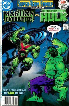 Martian Manhunter vs. The Hulk