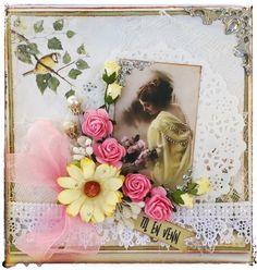 Vintagekort- Vintagecard  Inger Marie