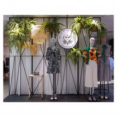 "HYUNDAI DEPARTMENT STORE, Jung-Dong, Seoul, South Korea, ""Disturbing the Plants"", for MAISON de McGINN VP, creative by Jellyfish 03, pinned by Ton van der Veer"