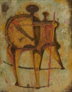 Rufino Tamayo: Uomini (1958)