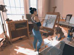 ArtStation - Sketch collection 9 2018, Atey Ghailan